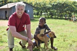 Guy Palmer is working globally to help stop rabies