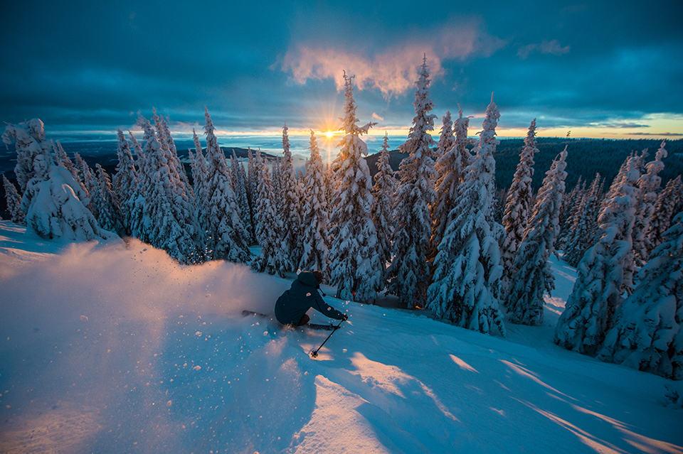 Skiing at SilverStar