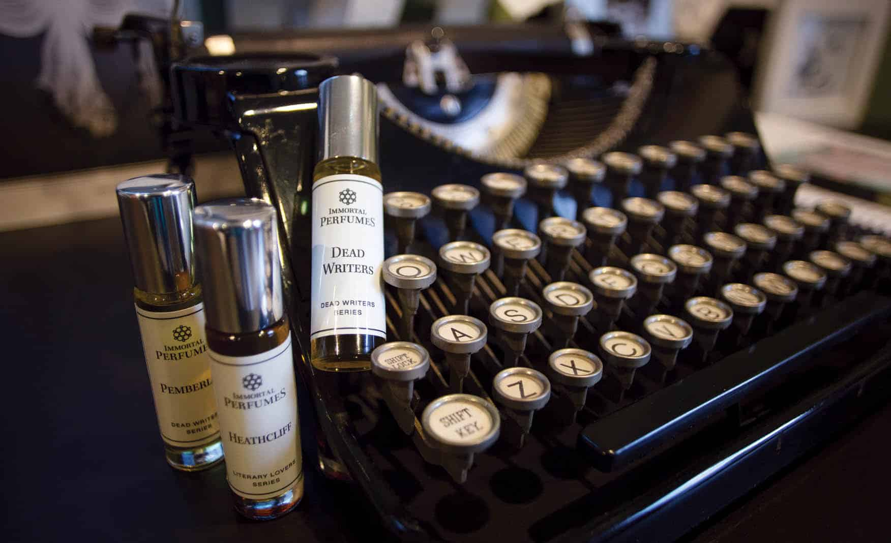 Immortal Perfumes, JT Siems' Micro-perfumery in her Seattle Studio