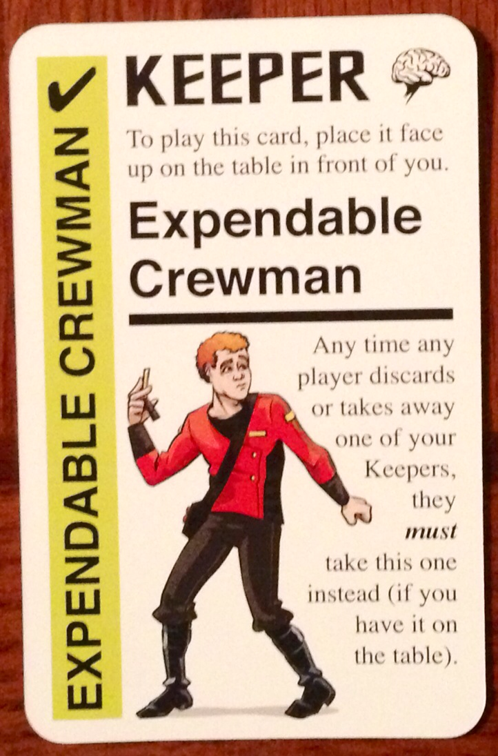 expendable crewman