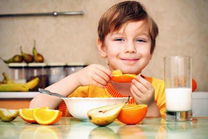 Alimentación para niños