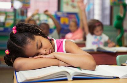 Falta de energía en niños