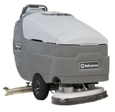 Nilfisk-Advance Warrior Commercial Industrial Walk Behind Floor Scrubber Machine
