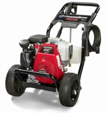 PowerBoss 20649Commercial Diesel Gas Pressure Washer