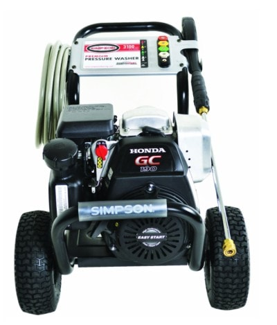 SIMPSONMSH3125-S3100Commercial Diesel Gas Pressure Washer