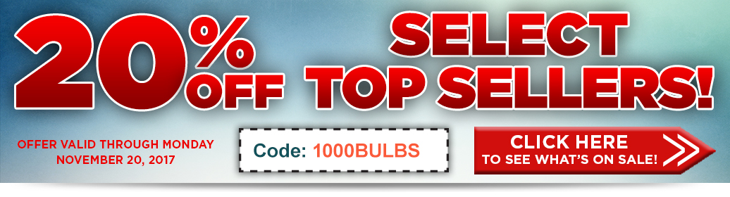 20% Off Select Top Items
