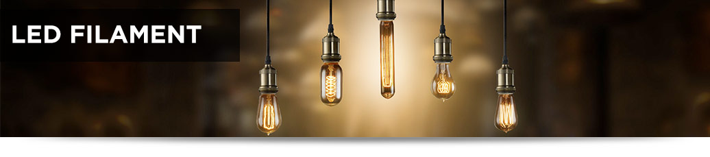 Vintage LED Filament Bulbs | 1000Bulbs.com