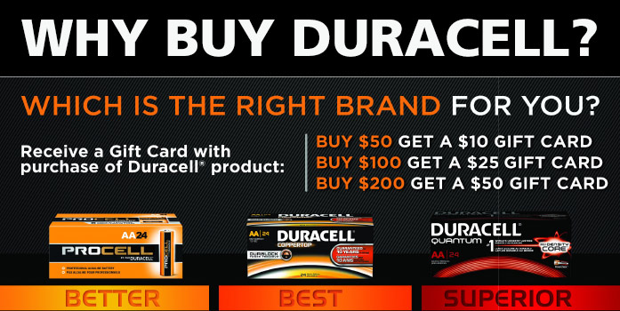 Duracell Battery Offer