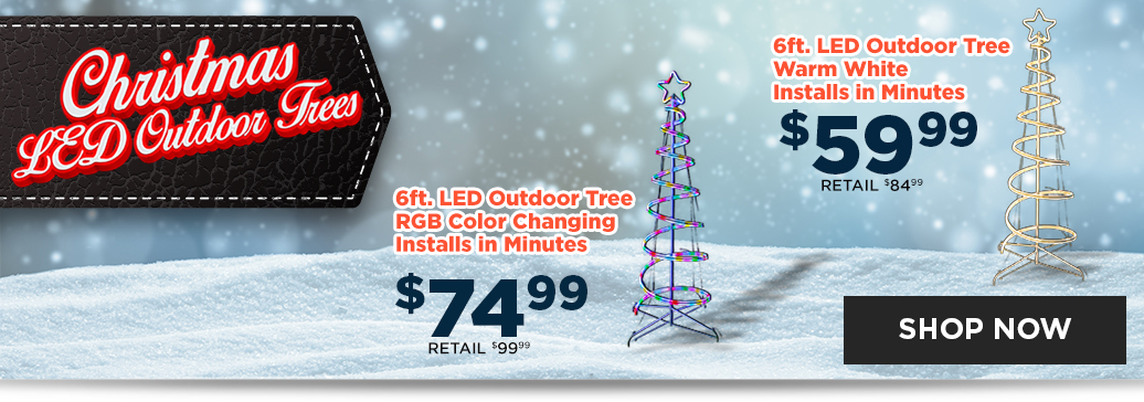 Christmas LED Outdoor Trees