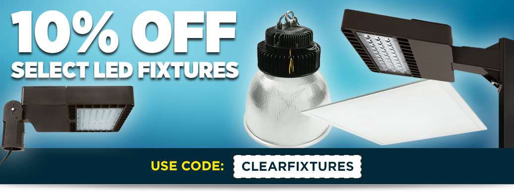 Additional 10% Off LED Fixture Clearance