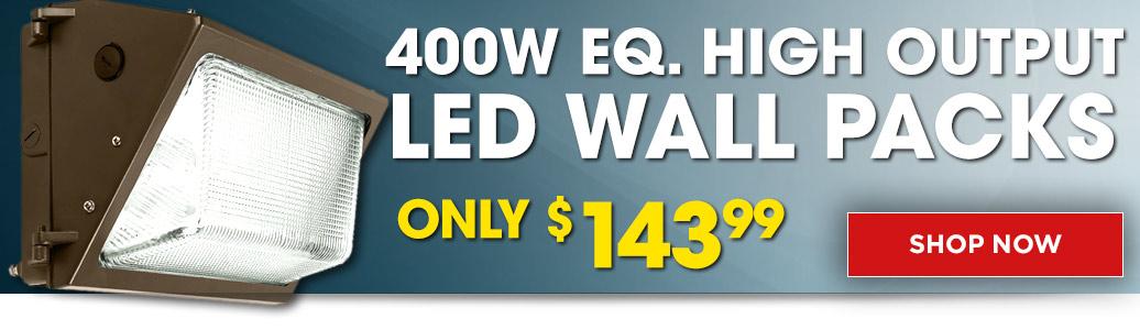 High Output LED Wall Packs