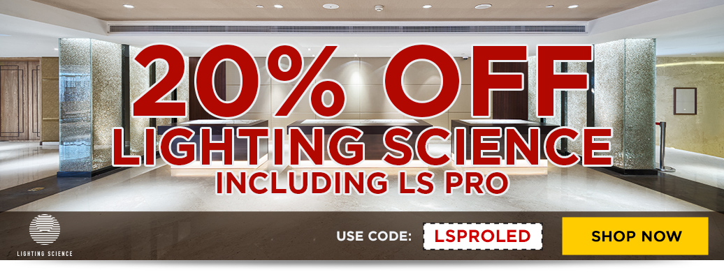 10% Off Lighting Science Pro