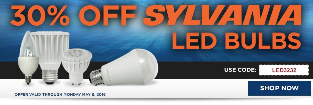 30% Off LED Sylvania
