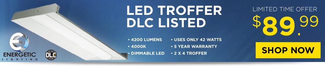 $99 LED Troffer