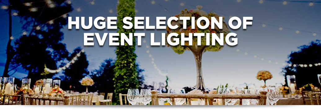 Wedding lights – everything you need to plan a special event