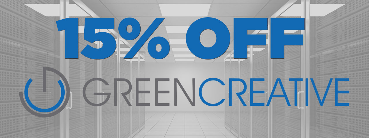 15% Off Green Creative Brand