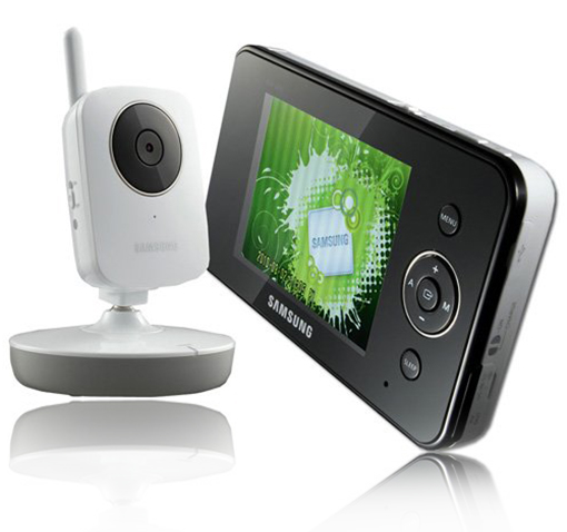 Samsung Wireless Video Baby Monitor w/ 3.4″ Color Screen, Night Vision, 2-Way Talking, & Remote Viewing! for $129.99