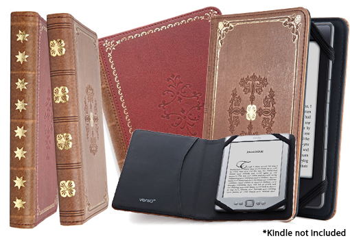 Verso Prologue Case Cover for Kindle – in Red or Tan! for $8.99