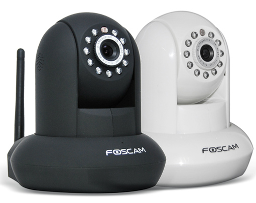 Foscam Pan/Tilt Wireless IP Camera w/ 26′ Infrared Night Vision, Smartphone Remote Viewing & Motion Detection! for $69.9…