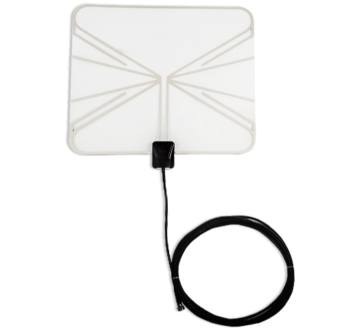 Winegard FlatWave HDTV 1080p Indoor Digital Antenna w/ 25 Mile Range & Clear Frame to Match Any Decor!