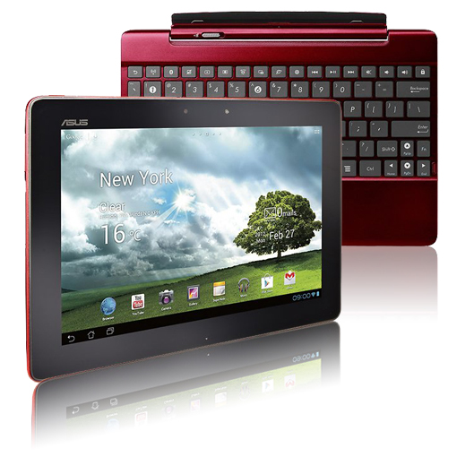 ASUS Transformer Pad 10.1″ Tablet w/ Keyboard Converter Dock, Android 4.0 OS, 16GB Storage, & 8MP Camera! for $299.99