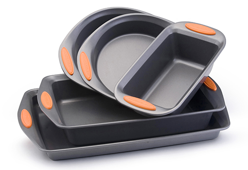 Rachael Ray 5-Piece Nonstick Bakeware Set - Oven Safe Up To 500°!