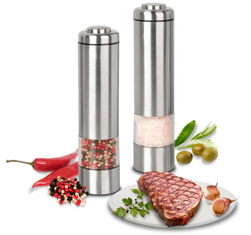 Kalorik Electric Pepper & Salt Grinder Set!