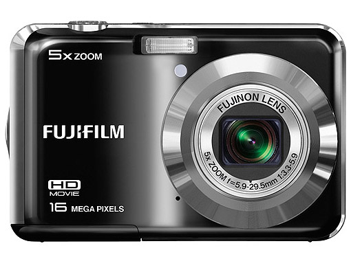 Fujifilm Finepix Black 16MP Camera with 2.7