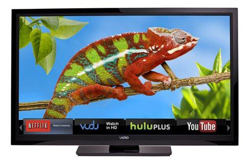 VIZIO 32″ LCD 720p Smart HDTV w/ Wi-Fi, Internet Apps, SRS, USB, 3x HDMI & 100,000:1 Contrast! for $219.99