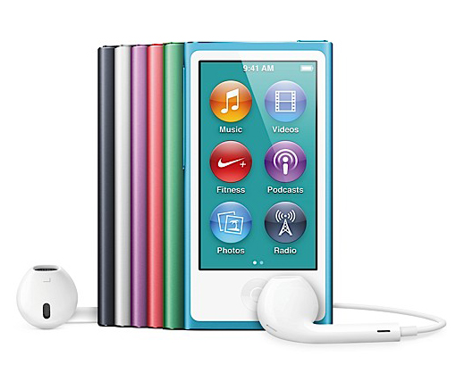 16GB Apple iPod nano (7th-Current Gen) w/ 2.5