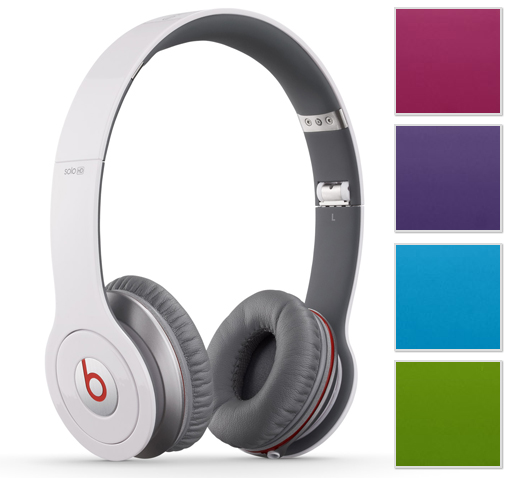 Beats by Dr. Dre Solo HD Headphones w/ Trifold Design, Detachable Cable, Case, & Mic/Remote Control on Cable!