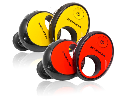 Event - Zonda Bluetooth In-Ear Stereo Headphones With Music & Volume Controls, Deep Bass & Auto-Pause for Ca
