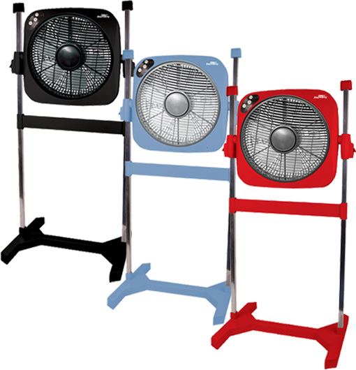 Air Innovations 14″ Swirl Cool 2-in-1 Fan w/ Removable Fan Head & Remote Control! for $34.99