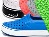 Deals List: Mint Neptune Unisex Shoes in Men's and Women's Sizes-Available in Black, White, and Grey