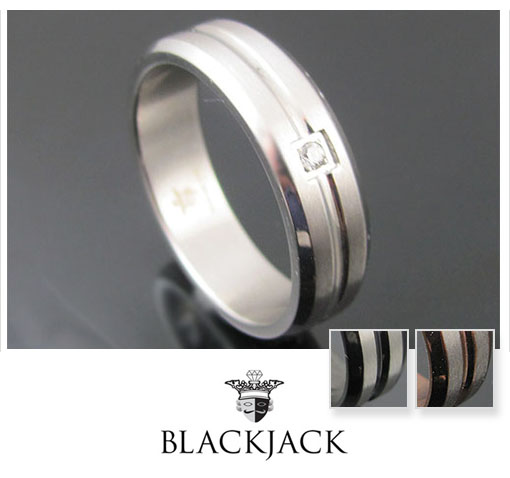 BlackJack Ring Size Black