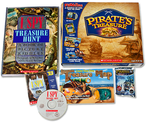 Scholastic I Spy Treasure