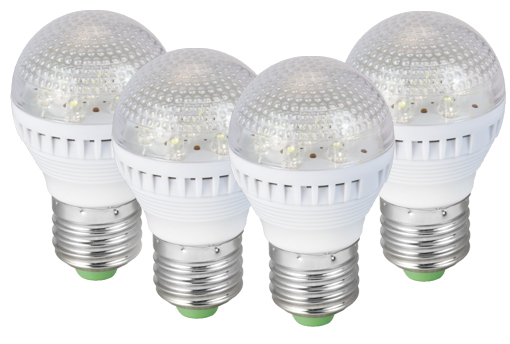 4-Pack LED Bulbs