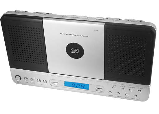 Wall Mountable Am Fm Stereo Radio Vertical Cd Player With