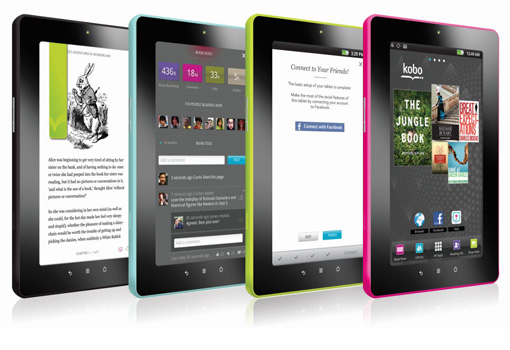 Google Android 8GB Kobo VOX 7