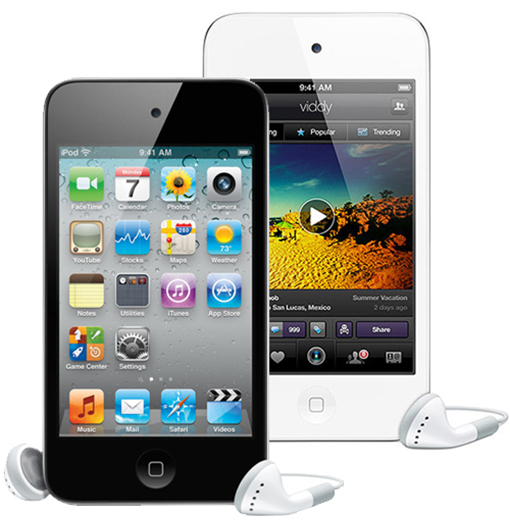 Apple 8GB iPod Touch 4th Generation w/3.5