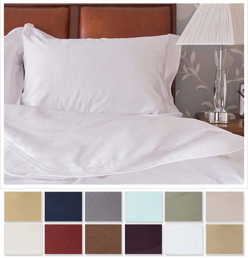 1800 Series Egyptian Comfort 4-Piece Sheet Set by Christopher Adams - Choice of Full, Queen, or King!