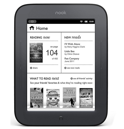 Barnes & Noble Nook Simple Touch 6