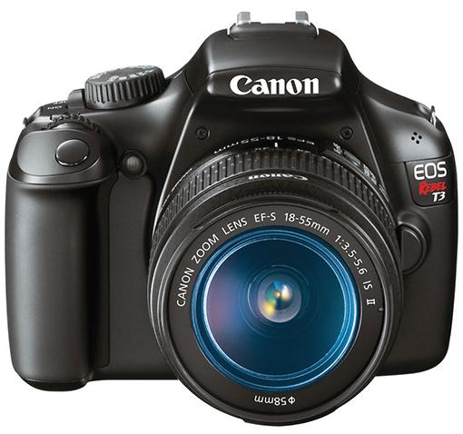 Canon EOS Rebel T3 12.2MP Digital Camera w/ 2.7