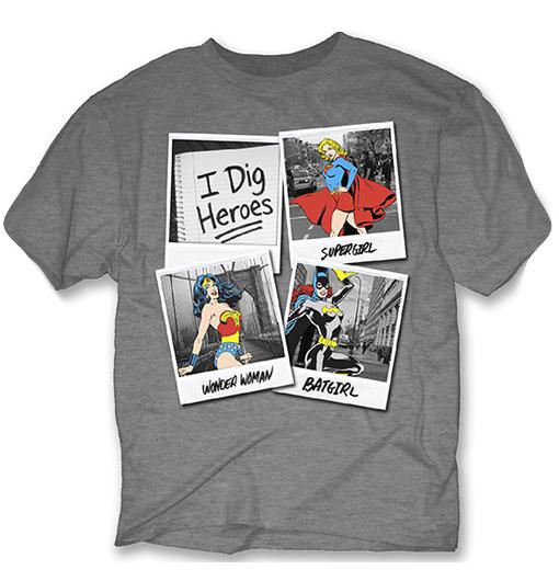 I Dig Heroes Tee - M
