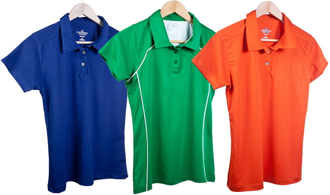 Women 39 s russell athletic polo shirts shipped from for 6 dollar shirts coupon code free shipping