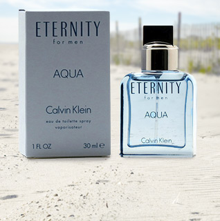 Eternity Aqua for Men by Calvin Klein 1 oz. Eau de Toilette Spray!