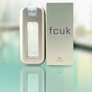 FCUK for Her by French Connection Eau de Toilette 3.4 oz. Spray!