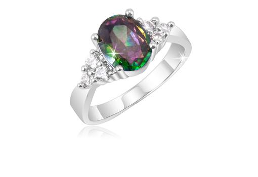2 Ct Topaz Ring - Size 6
