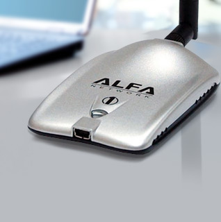 Alfa Super Wifi Extender 1W 1000mW 802.11b/g USB WiFi Network Adapter With 5dBi Antenna for Amazing Reception!