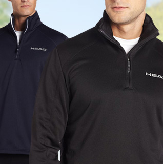 HEAD Men's Heavy Weight Fleece Sweatshirt in Black, Nine Iron, or Navy – Available in Sizes S-XXL!